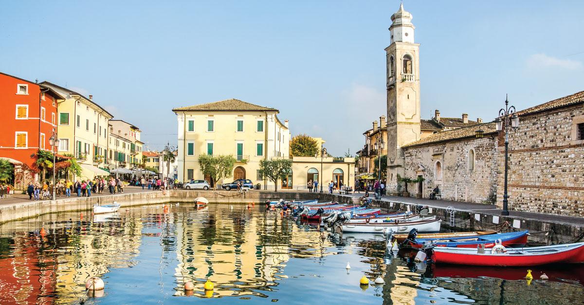 tur 5 søer italien lazise