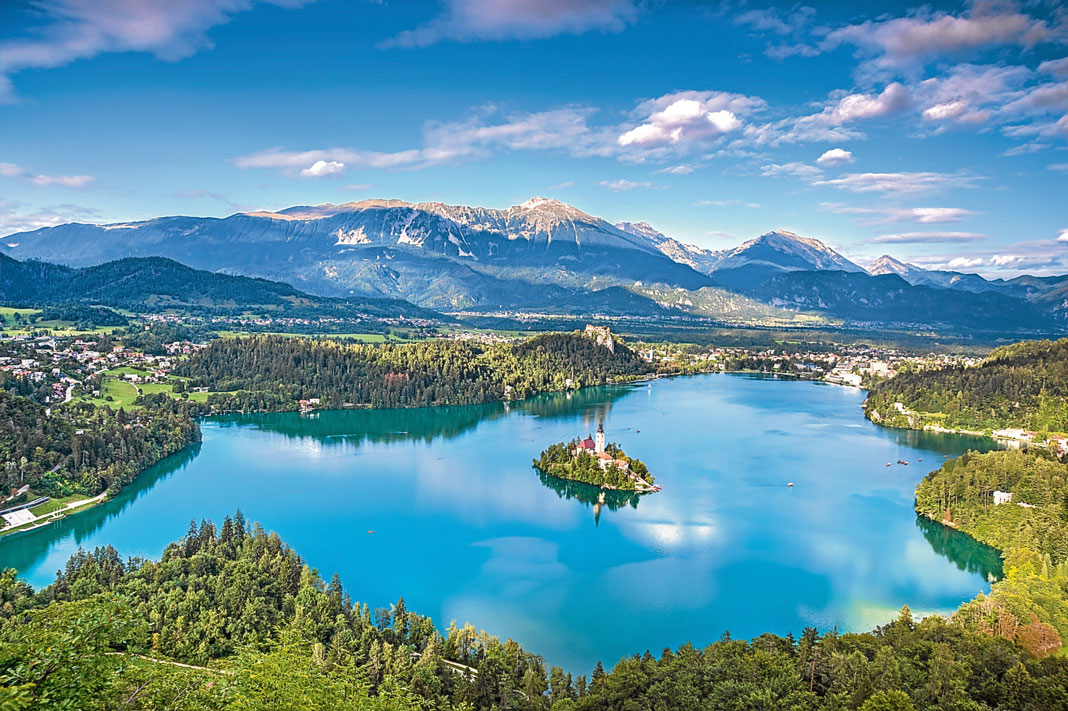 tur slovenien lake bled