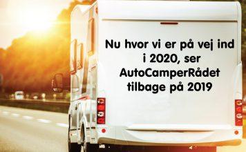 AutoCamperRådet ser tilbage på 2019