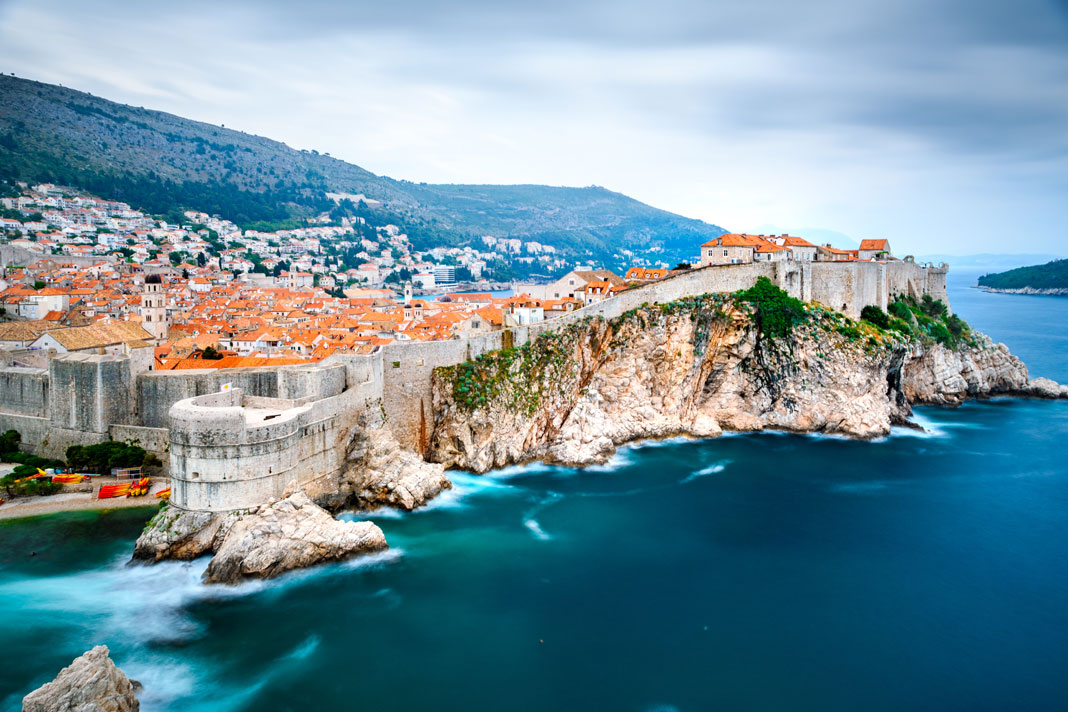 dubrovnik seaside