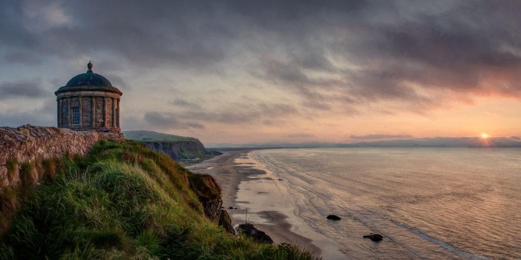 irland nordirland autocampertur