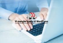 hjælp wordpress dansk autocamper forening